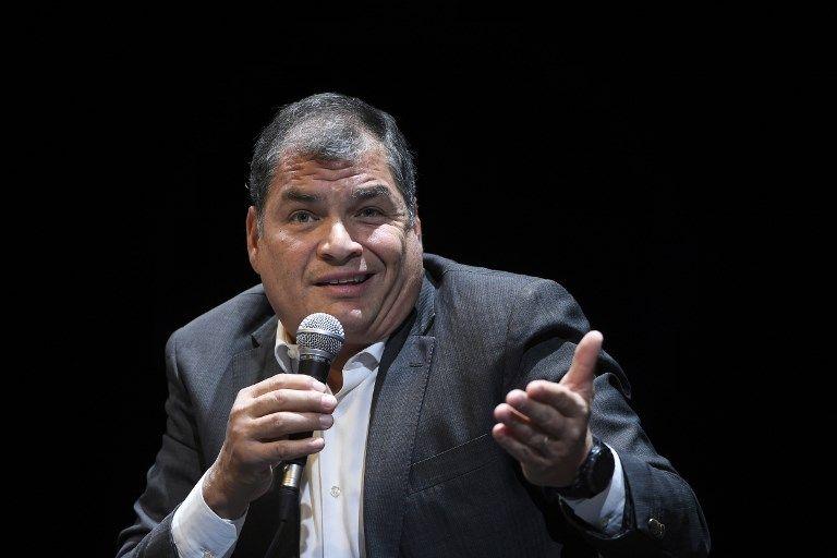 De acuerdo a la legislación ecuatoriana, el delito de peculado no prescribe. Foto: AFP