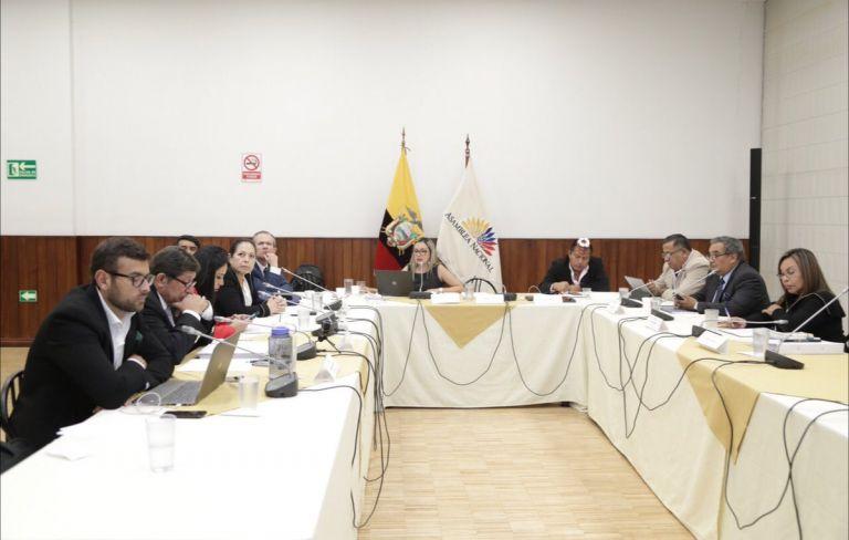 La comisión parlamentaria recomendó solicitar a la Fiscalía iniciar acciones penales. Foto: Asamblea Nacional