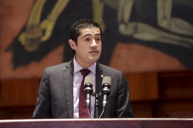 """""""El país enfrenta una situación fiscal insostenible"""", dijo el ministro. Foto: Flickr Asamblea"""