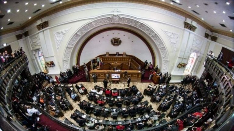CARACAS, Venezuela.- El Parlamento venezolano, controlado por la oposición, posicionó a Juan Guaidó como su presidente. Foto: Asamblea Venezuela.