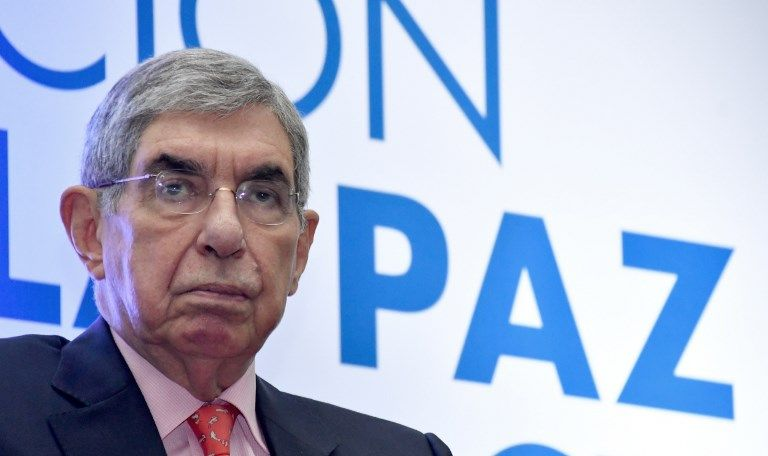 Es la segunda denuncia penal contra Arias, dos veces presidente de Costa Rica. Foto: AFP