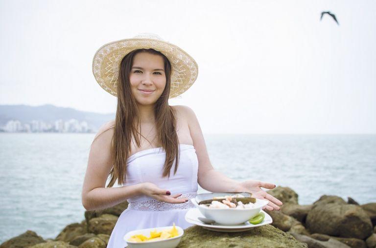 La deliciosa gastronomía es una de las opciones para disfrutar en Manabí.