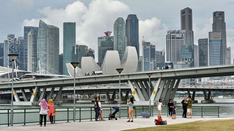 Singapur. Foto: AFP