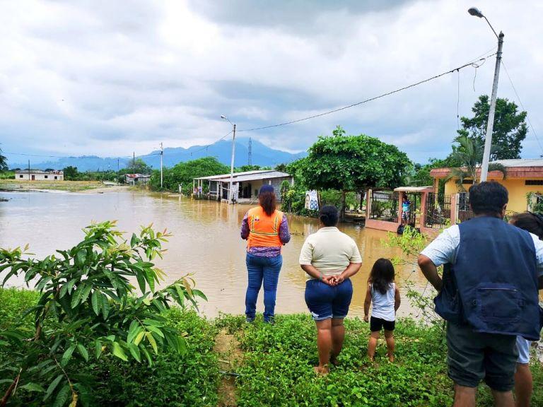 Cantón Santa Rosa, El Oro. Foto: @Riesgos_Ec