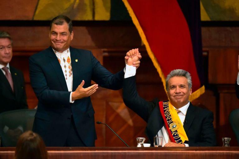 Los candidatos promovidos por Correa se medirán en elecciones locales a las fuerzas de su exaliado Lenín Moreno y de una derecha fortalecida dentro y fuera del país.