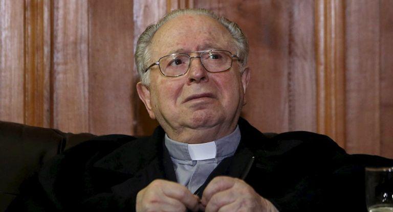 Fernando Karadima, un influyente párroco que por décadas abusó sexualmente de niños y adolescentes. Foto: AFP.