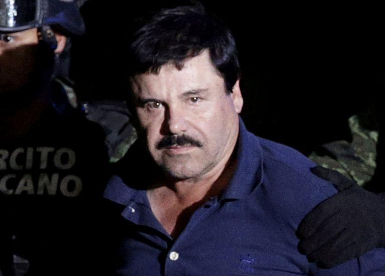 El 12 de febrero, el Chapo Guzmán fue declarado culpable de 10 delitos de narcotráfico por un jurado que deliberó durante 6 días. Foto: Reuters.