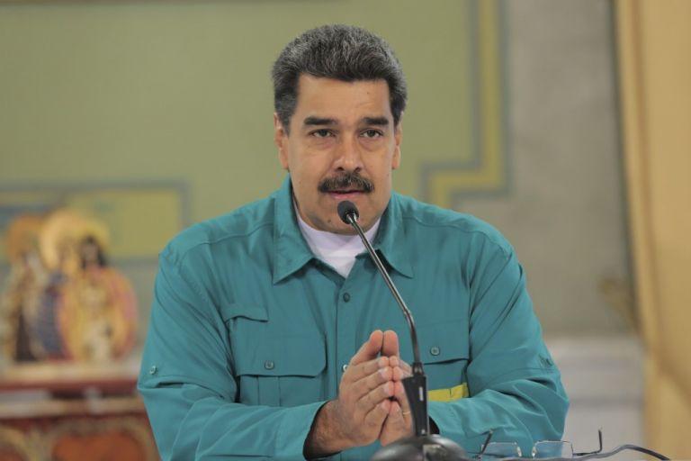 """""""Esto es preparándonos para cualquier otro ataque artero de estos fascistas"""", dijo Maduro. Foto: AFP"""