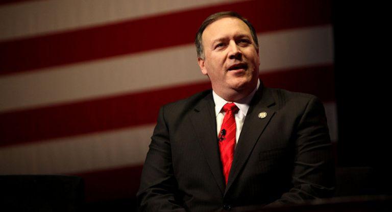 Mike Pompeo, secretario de Estado de Estados Unidos. Foto: AFP.