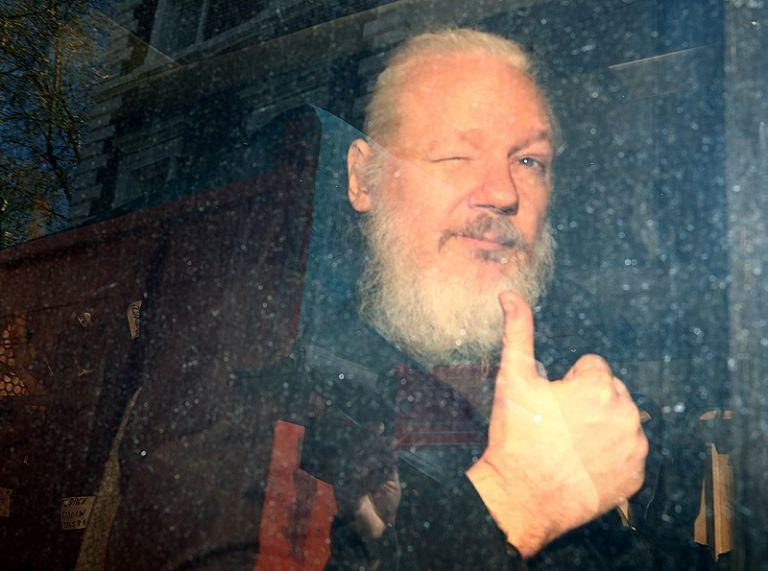Moreno criticó el trato proporcionado por Assange hacia el personal diplomático de la legación en Londres. Foto: Reuters