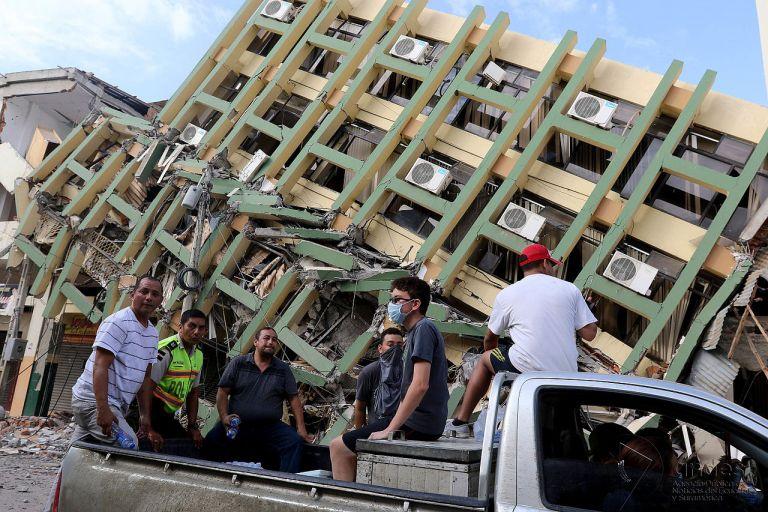 Foto de archivo del terremoto ocurrido el 16 de abril de 2016 y que afectó a Manabí y Esmeraldas.