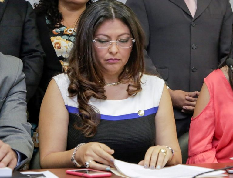 El caso llevó a que en noviembre pasado Espín fuera destituida como asambleísta. Foto: Flickr Asamblea
