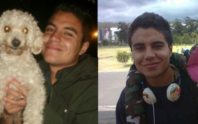 David Romo Córdova desapareció el 16 de mayo de 2013 en Quito.