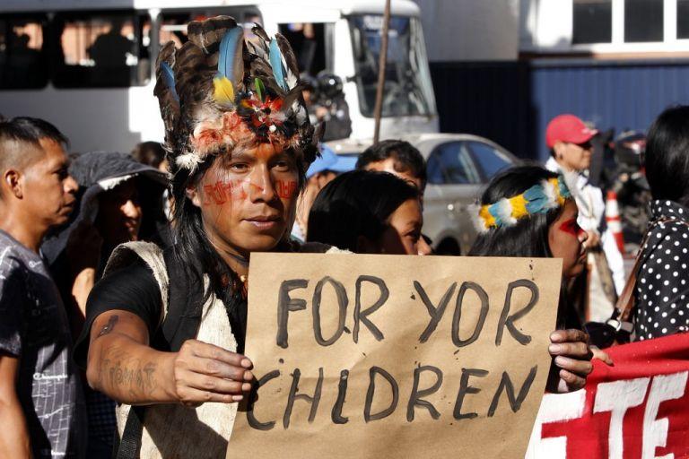 Los waorani son dueños de unas 800.000 hectáreas de selva en las provincias de Pastaza, Napo y Orellana. Foto: AFP