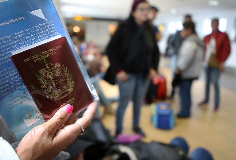 Según la ONU, unos tres millones de venezolanos han dejado su país desde 2015. Foto: AFP