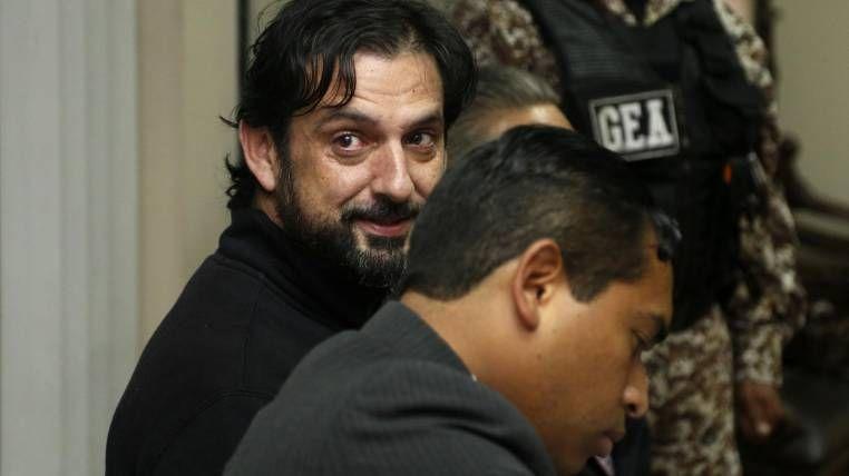 Ceglia pidió al Gobierno que le concediera el asilo territorial para evitar su extradición a Estados Unidos. Foto: AFP