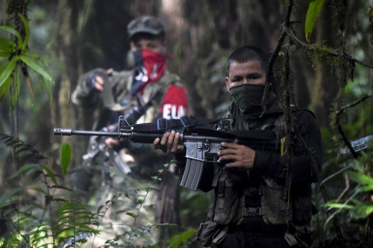 En sus orígenes el ELN estuvo  bajo el influjo de la Revolución cubana y de la Teología de la Liberación, una corriente contestaria dentro de la Iglesia católica. Foto: AFP.