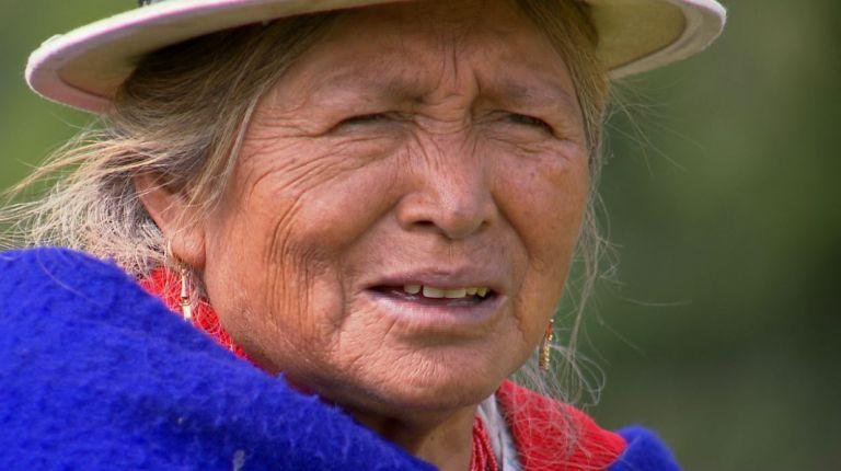 De joven, Ana María Guacho fue vendida a los brazos de un hombre mayor contra su voluntad.