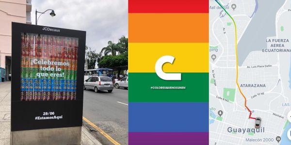 Por el Mes del Orgullo, empresas en Ecuador dedican campañas a la población LGBTIQ+