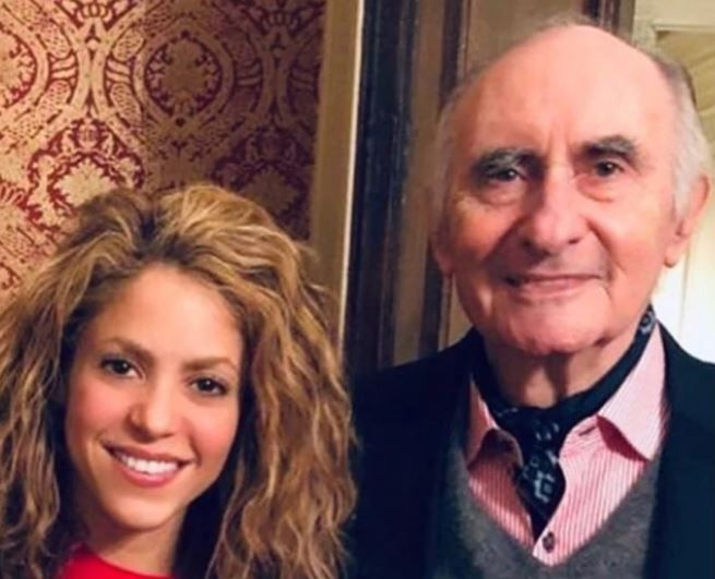 """Fernando querido, te has ido para siempre amigo"", lamentó Shakira."