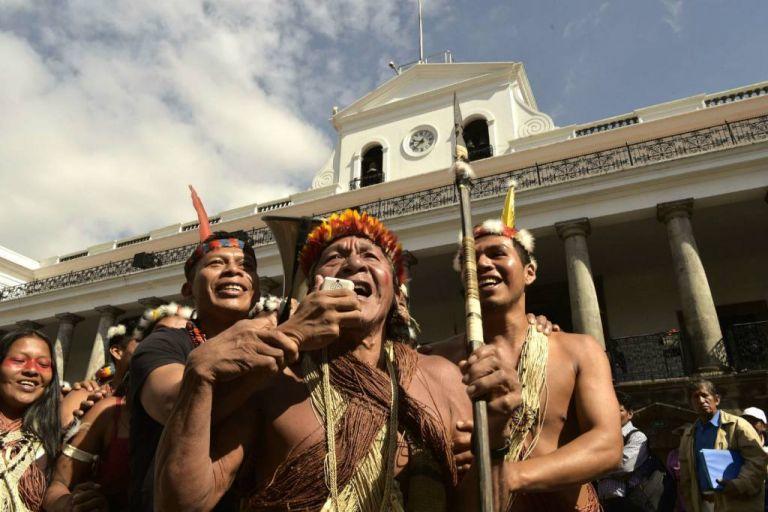 Como medida de reparación, el tribunal dispuso que el Estado realice una nueva consulta. Foto: AFP