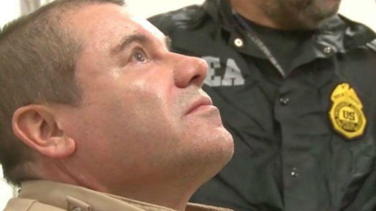 El Chapo fue condenado este miércoles a cadena perpetua por diez crímenes relacionados con el tráfico de drogas.