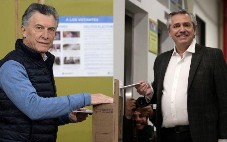 Mauricio Macri buscará la reelección frente al peronista de centro-izquierda Alberto Fernández.