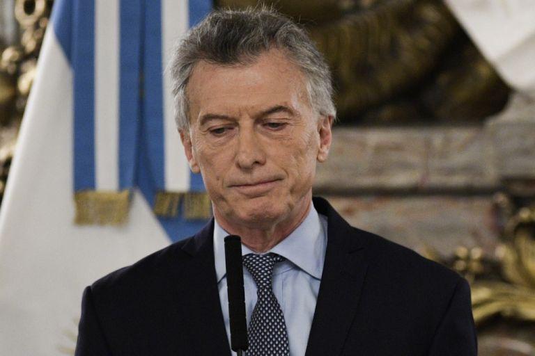 Macri suscribió un acuerdo con el FMI en 2018 que le concedió el mayor préstamo de su historia. Foto: AFP