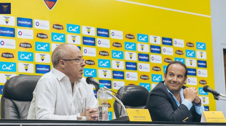 Célico está encargado del combinado mayor tras la reciente salida del colombiano Hernán Darío Gómez.