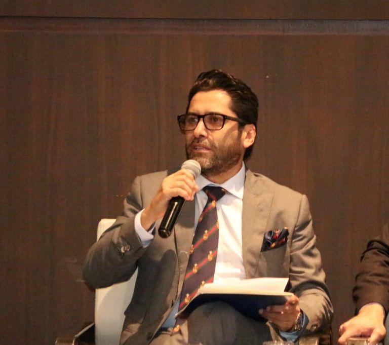 Ontaneda defendió la importancia de recuperar una relación comercial beneficiosa para ambos países. Foto: archivo Ministerio de la Producción