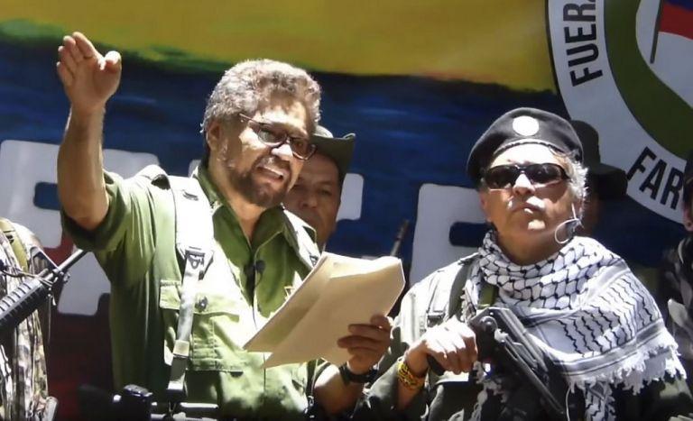 """La amenaza está en su anuncio de """"coordinar esfuerzos"""" con el resto de disidentes y los rebeldes del ELN. Foto: AFP"""