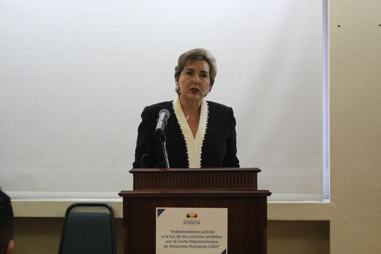 Según Aguirre, la revisión de los fallos corresponde a los órganos jurisdiccionales superiores.