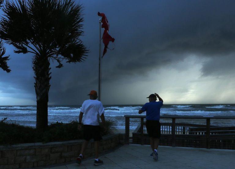 En las Bahamas, Dorian provocó feroces vientos y marejadas que dejaron al menos cinco muertos. Foto: AFP