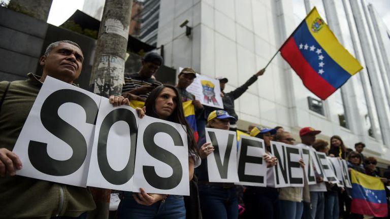 La situación de Venezuela podría agravarse aún más si se criminalizan las actividades de organizaciones de derechos humanos. Foto: AFP.