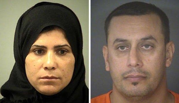 Abdulah Fahmi Al Hishmawi, de 34 años, y Hamdiyah Sabah Al Hishmawi, de 33, fueron arrestados acusados de violencia familiar.