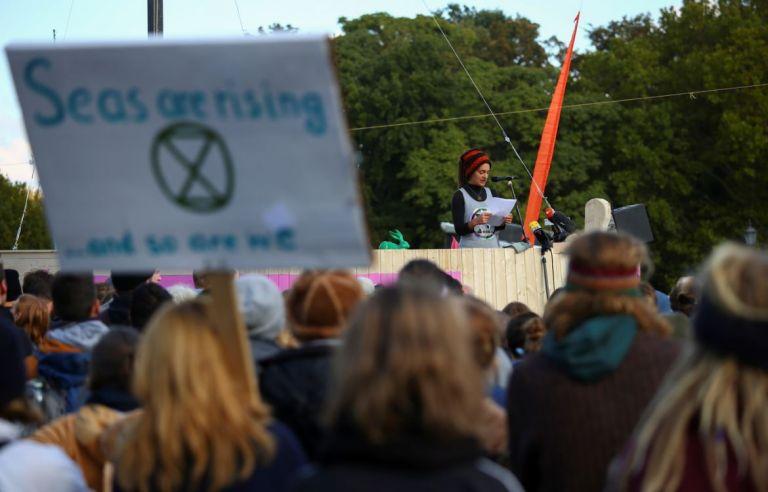 El movimiento pretende que el gobierno declare la 'emergencia climática' y apruebe medidas drásticas. Foto: Reuters.