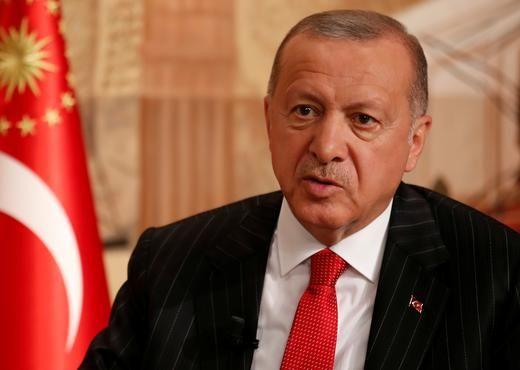 """Erdogan denuncia que no aceptan que los países elijan a """"una organización terrorista antes que a Turquía"""". Foto: Reuters."""