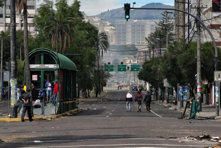 Fuerzas Armadas restringirá la movilidad en el área en donde se realizará el diálogo en Quito. Foto: AFP.