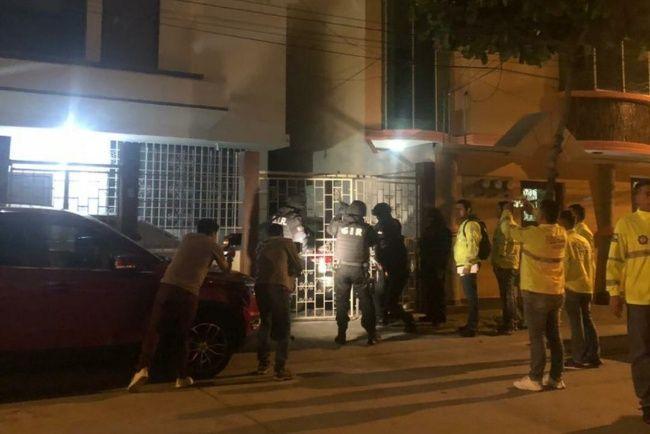 Varios inmuebles fueron allanados por Fiscalía para dar con la organización que emitía ilegalmente licencias de conducir en Guayaquil. Foto: Fiscalía.