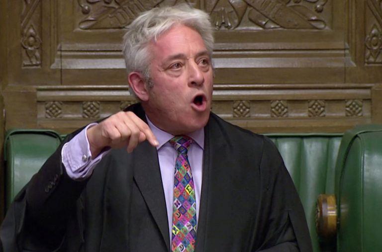 "John Bercow, ha vetado que el Parlamento se pronuncie hoy sobre el acuerdo del ""brexit"". Foto: Reuters."