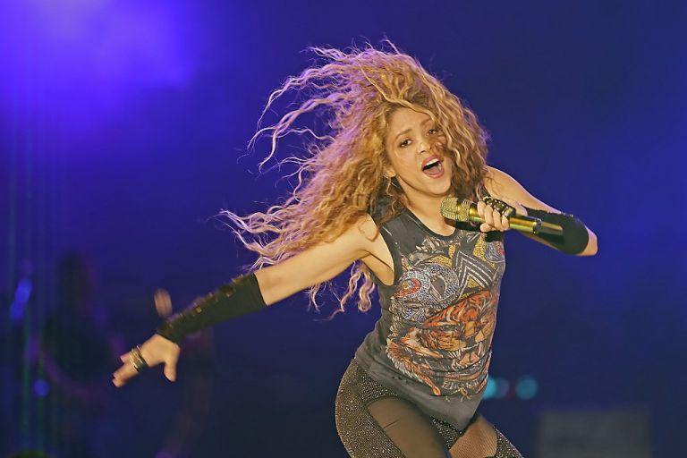 Shakira tiene un novedoso reto por delante: junto a Jennifer López, fue designada para actuar en el espectáculo del medio tiempo del Super Bowl de 2020. Foto: AFP.