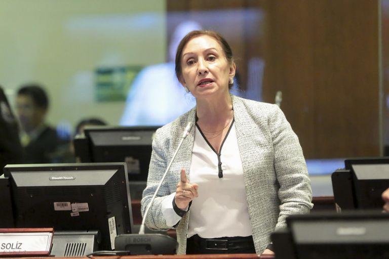 Doris Soliz, exministra de Inclusión Económica y Social y actual asambleísta.
