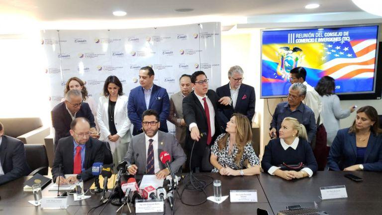Las reuniones del TIC serán lideradas por Ontaneda y el representante Comercial Adjunto de Estados Unidos, Curtis Joseph Mahoney.