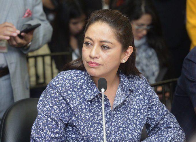 La prefecta de Pichincha fue detenida la madrugada del pasado lunes 14 de octubre por el delito de rebelión.