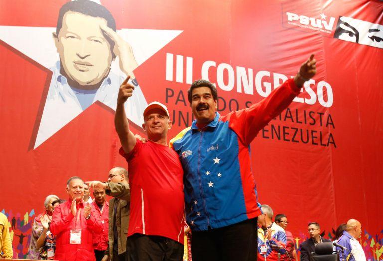 Hugo Carvajal fue jefe de la contrainteligencia con el presidente fallecido de Venezuela Hugo Chávez y el actual, Nicolás Maduro. Foto: AFP.