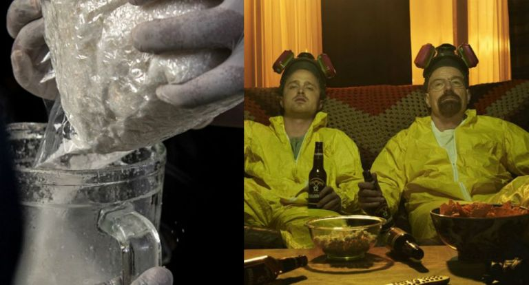 "El caso guarda algunas similitudes notables con la serie ""Breaking Bad""."