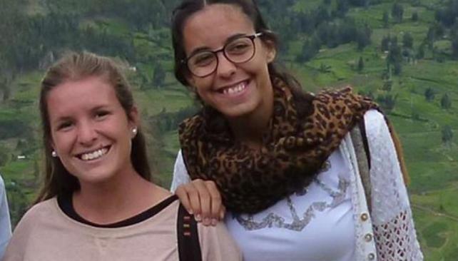 Las argentinas María José Coni y Marina Menegazzo.