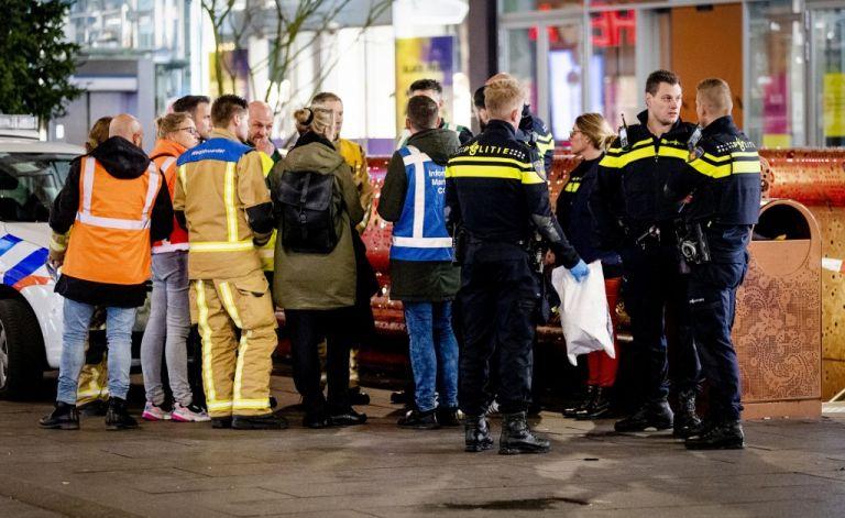 Tres personas resultaron heridas por un ataque con arma blanca en La Haya. Foto: AFP.
