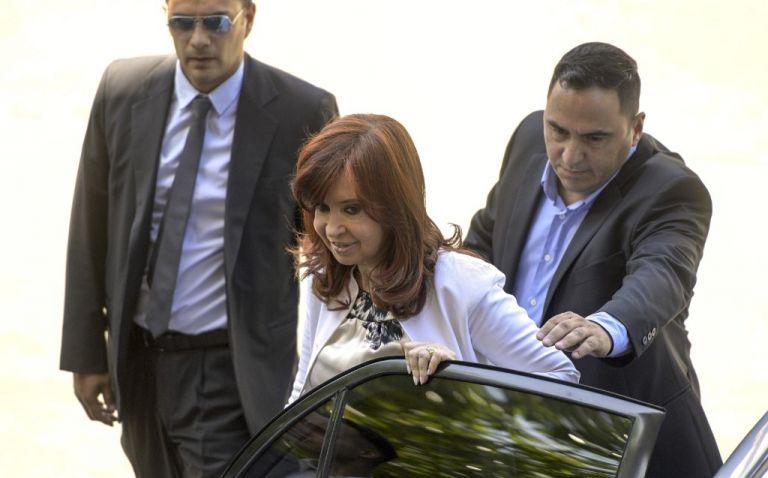 """""""Impidieron que mis hijos o yo tengamos tarjeta de crédito"""", deploró Kirchner, en referencia al embargo de cuentas bancarias. Foto: AFP"""