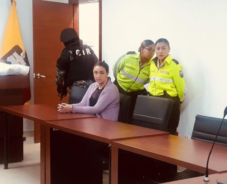 Luego de los procesos penales en su contra, María Sol L. aún no ha pagado 4.4 millones de dólares como reparación a favor del Estado. Foto tomada del Twitter de @JacquelineRodas